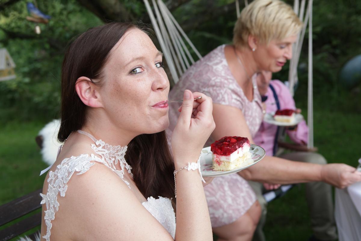 Brautkleider der A-Linie | Birgit Galante