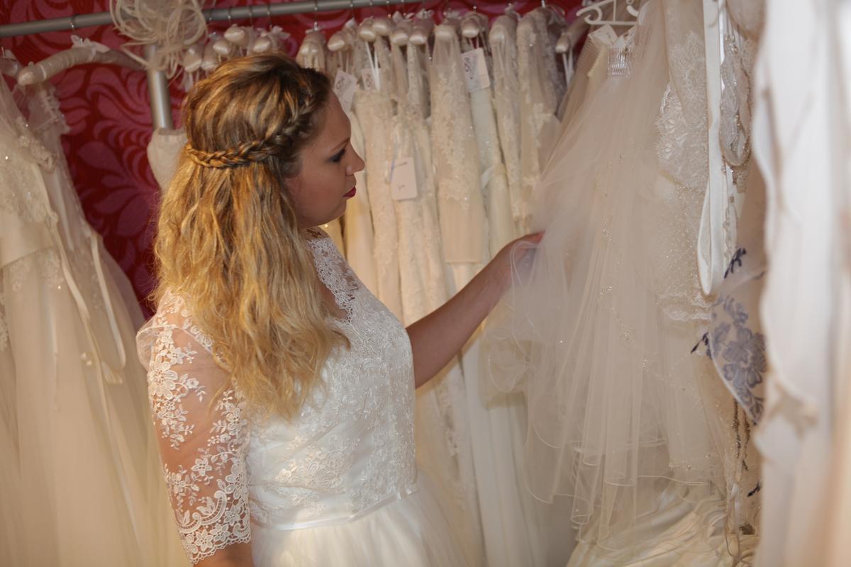 Brautkleider der I-Linie   Birgit Galante